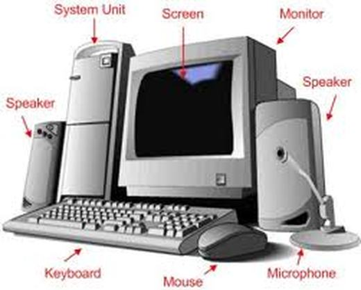 computer diagram   introtoinfohardware components